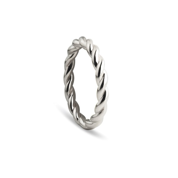 Ring Twisted, Silber