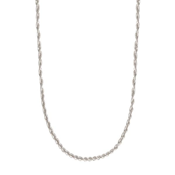 Jeberg Jewellery Kette Robin, Silber