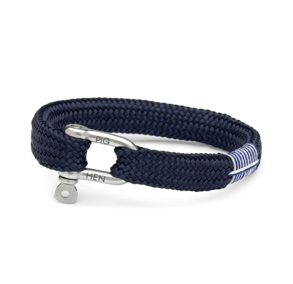 Herren-Armband Sharp Simon, navy