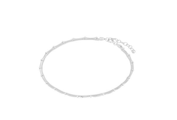 Pernille Corydon Fußkette Galaxy, Silber