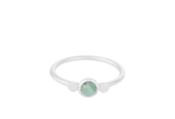 Pernille Corydon Ring Fjord, Silber