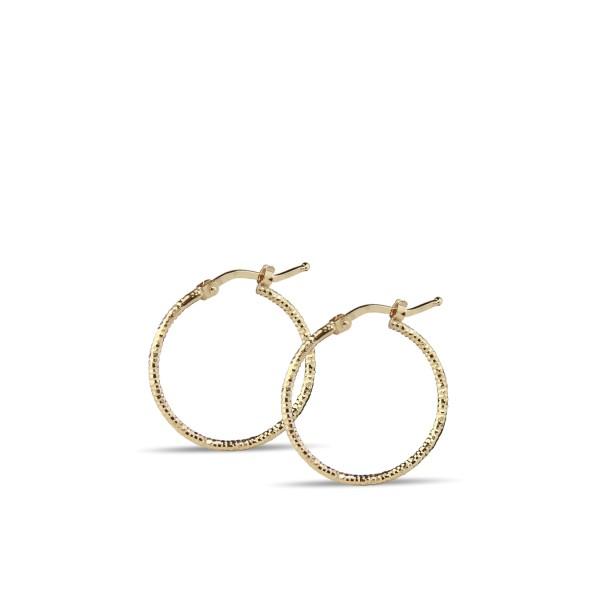 Jeberg Jewellery Creolen Rituals, vergoldet