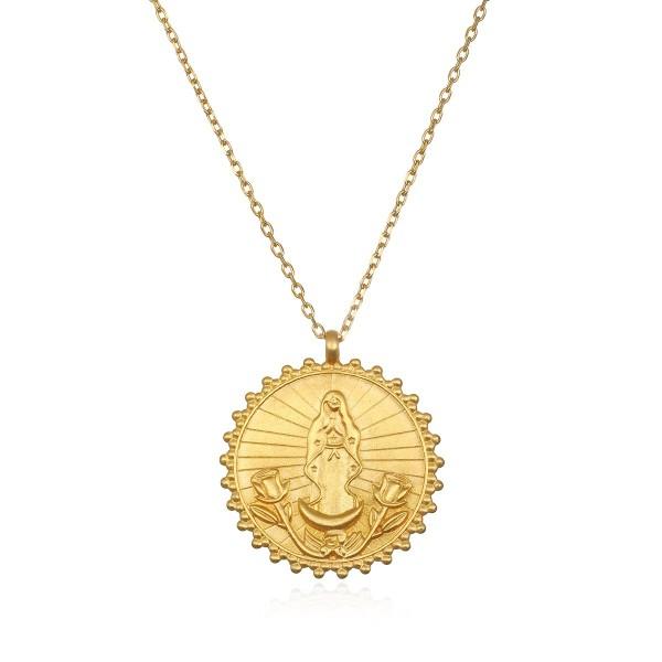 Satya Kette Divine Mother, vergoldet