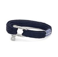 Herren-Armband Sharp Simon, navy