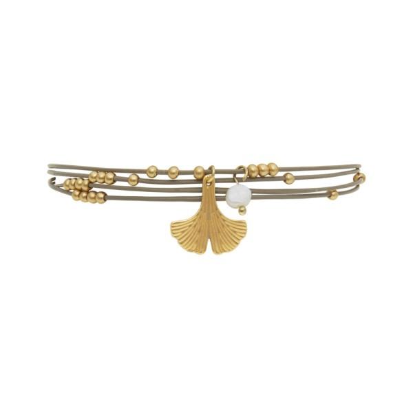 Armband Ava, vergoldet mit Süßwasserperle