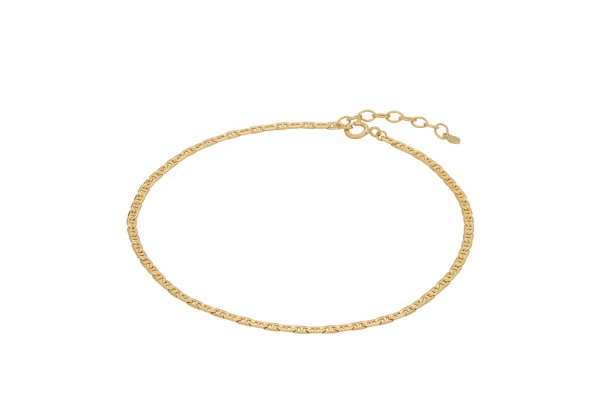 Pernille Corydon Fußkette Therese, vergoldet