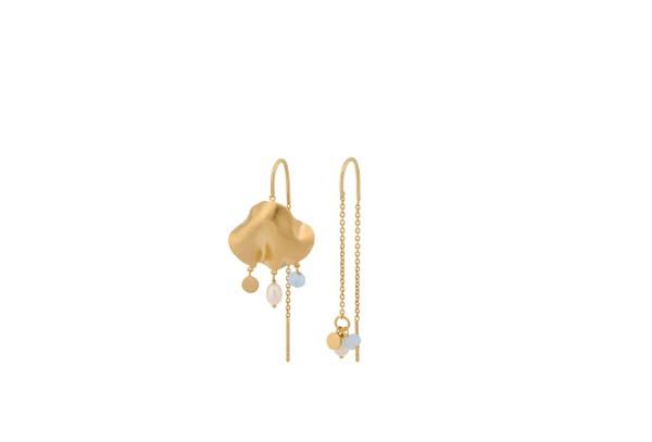 Pernille Corydon Ohrringe Sea Treasure, vergoldet