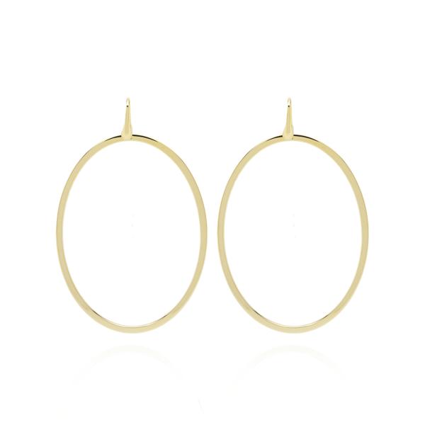 LOTT.gioielli Ohrringe Classic Ovale, vergoldet