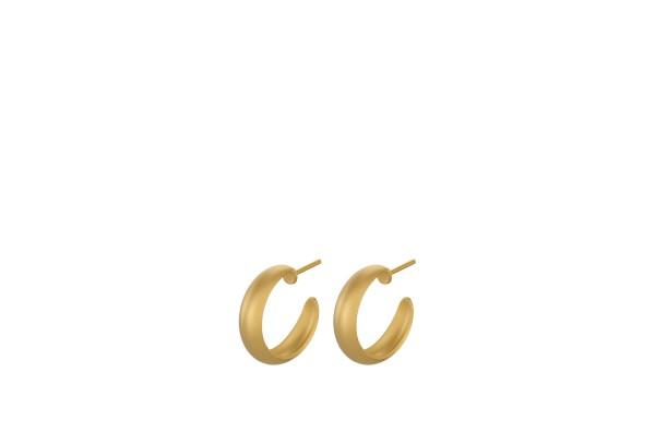 Pernille Corydon Ohrringe Creole Soho, vergoldet