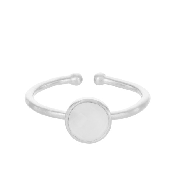 Ring Frosted, Silber