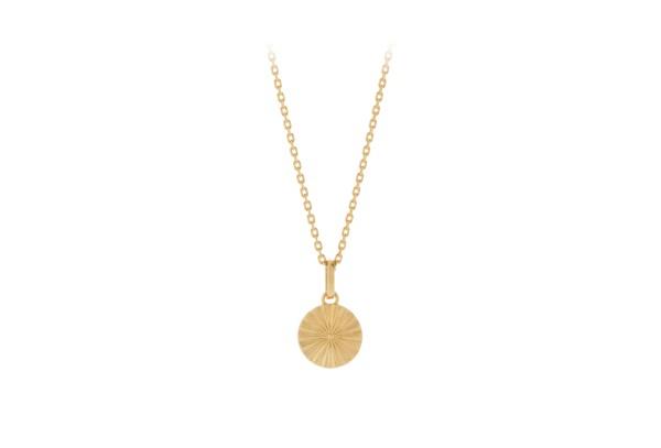 Pernille Corydon Kette Sun, vergoldet