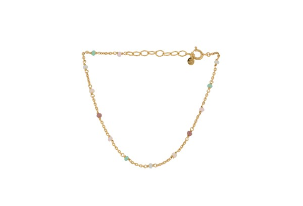 Pernille Corydon Armband Calisto, vergoldet