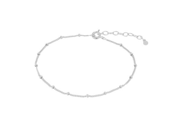Pernille Corydon Fußkette Solar, Silber