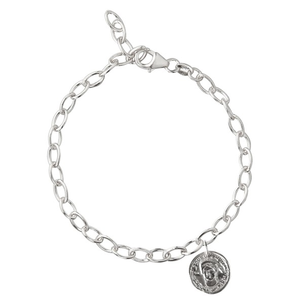 Armband Be your own muse, Silber