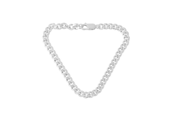 Pernille Corydon Unisex Armband Solid, Silber
