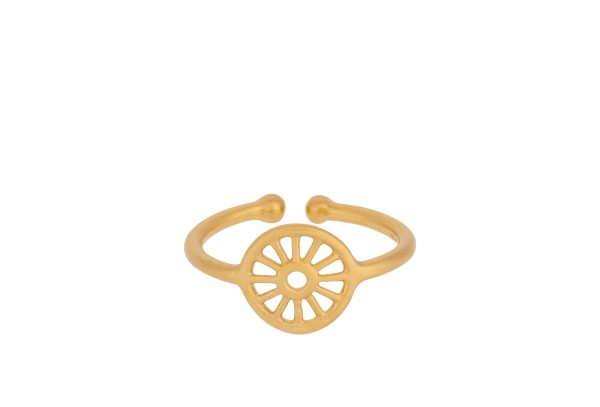Ring Small Sunlight, vergoldet